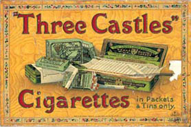 Publicidad de Three Castle