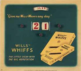 Publicidad de Wills Whiffs