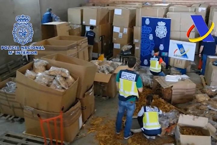 Aumenta el contrabando de hoja de tabaco en Extremadura