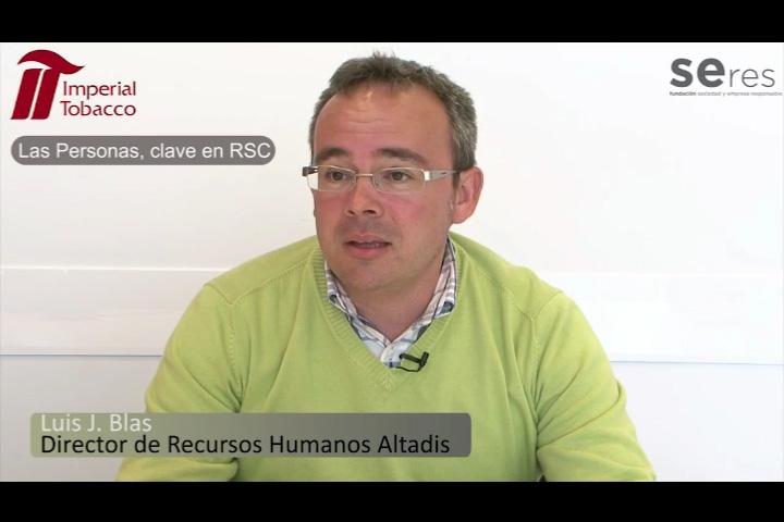 Entrevista a Luis J. Blas, Director de Recursos Humanos de Altadis