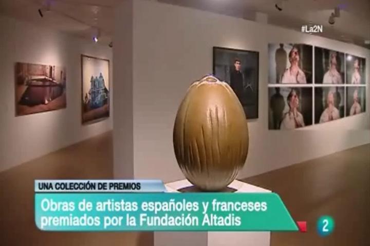 La colección Premios Altadis permanecerá expuesta en el Ayuntamiento de Logroño durante los próximos 10 años