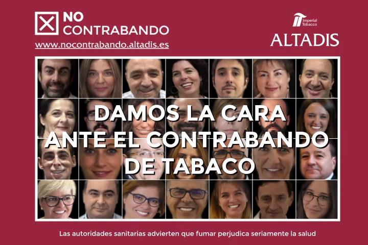 Campaña de concienciación frente al contrabando de tabaco