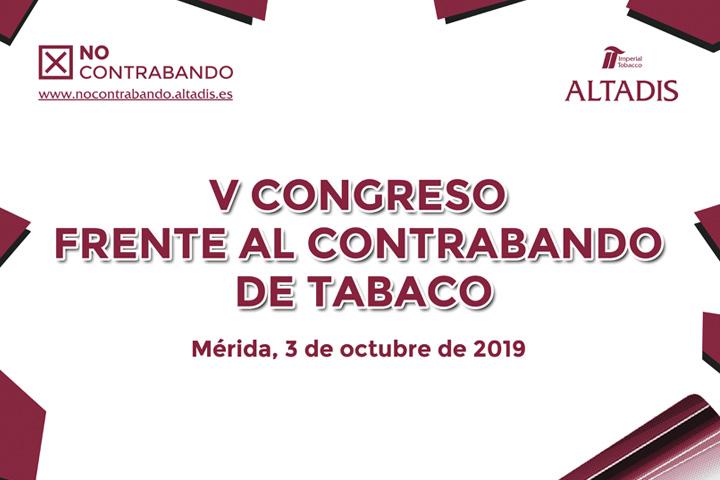 V Congreso frente al Contrabando de Tabaco